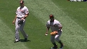 Tejada's adventurous catch