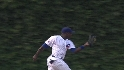 Soriano&#039;s running grab