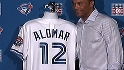 Alomar on having number retired