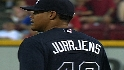 Jurrjens' nine strikeouts