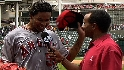 Santana on throwing no-hitter