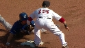 Varitek throws out Getz