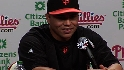 Beltran on trade