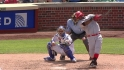 Renteria's two-run shot
