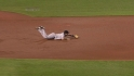 Teixeira's diving stop