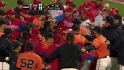 Benches clear in AT&amp;T Park