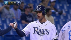Rays get a double steal