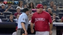 Scioscia's ejection