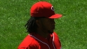 Cueto&#039;s nine strikeouts