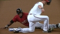 Saunders' pickoff play
