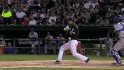 Pierzynski hit by pitch