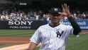 Jeter honored pregame