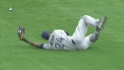 Maybin's stellar catch