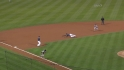 Hairston's go-ahead grounder