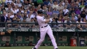Wells' two-run homer