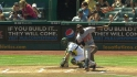 Guerrero's RBI double