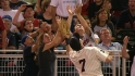 Fan gets in Mauer's way
