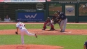 Pena's two-run shot