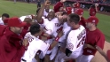 Trumbo's walk-off shot