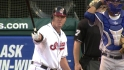 Thome's first Indians at-bat