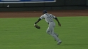 Maybin's running catch