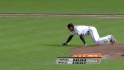 Gonzalez&#039;s diving play