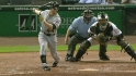 Abreu's first MLB strikeout