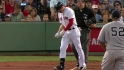 Ellsbury hit by pitch