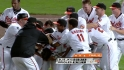 Adams' walk-off single