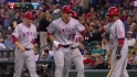 Trout&#039;s three-run shot