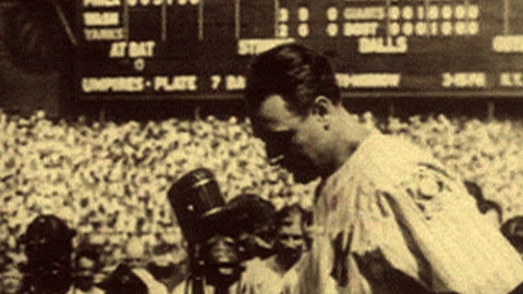 Gehrig's farewell address remains best of all time