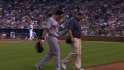 Asdrubal hurt, then homers