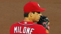 Milone's Major League debut