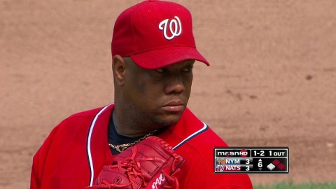 Livan talking to Nats about role with club