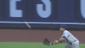 Ethier's lunging catch