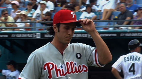 Phils open spot on roster by outrighting Stutes