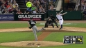 Reed&#039;s first career strikeout