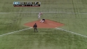 Scutaro starts a double play