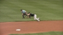 Uggla's lunging catch