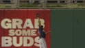 Constanza's great leaping catch