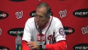 Johnson on Strasburg's return
