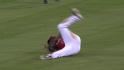 Torii's diving catch
