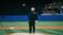 President Bush&#039;s first pitch