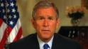Bush speaks before Series