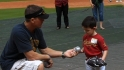 Biggio hosts Sunshine Kids