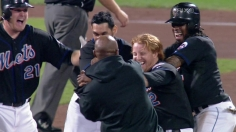 Turner hits a walk off double