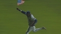 Sosa circles Wrigley with flag