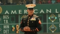 Corporal Kiernan&#039;s first pitch