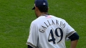 Gallardo's 12 strikeouts