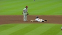 Altuve steals second